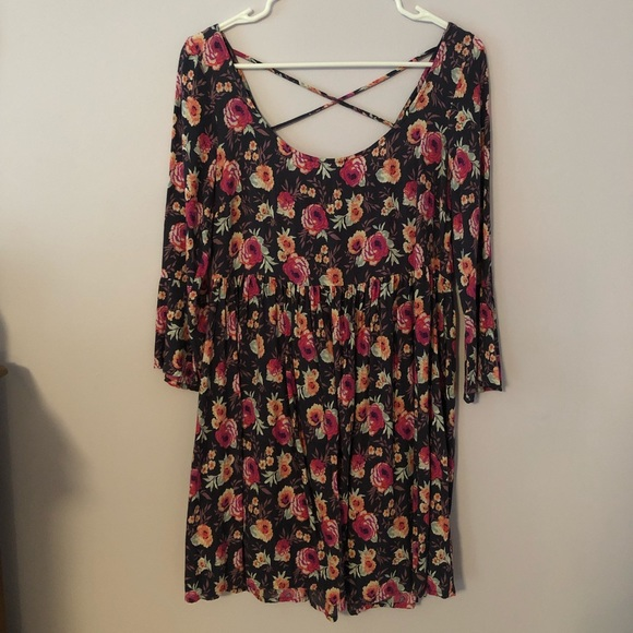 American Eagle Outfitters Dresses & Skirts - American Eagle Floral Babydoll Dress